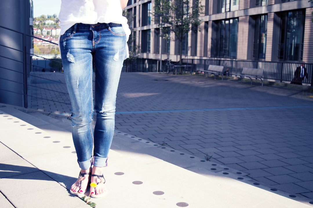 Jeans-Outfit