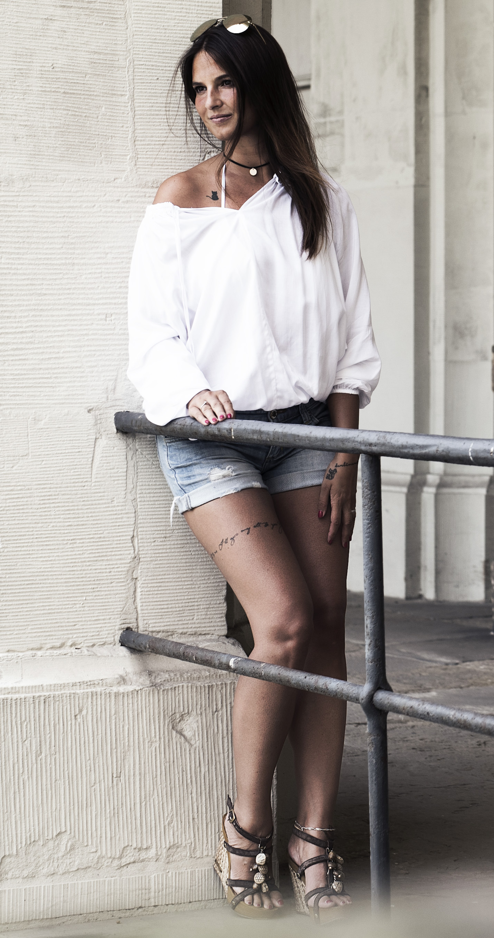 Shorts-Bluse-sommerlook