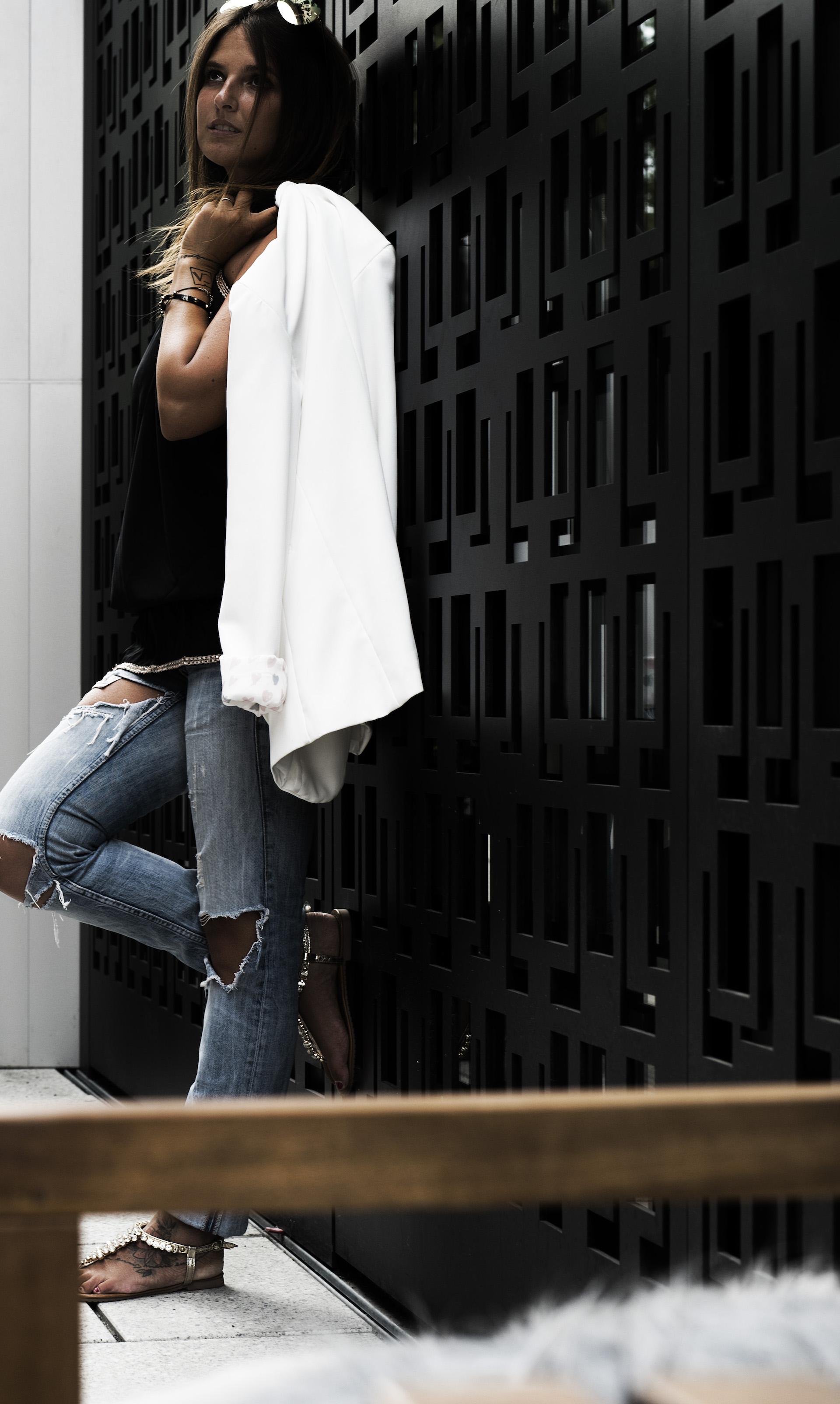 Frankfurt-Blazer-Jeans