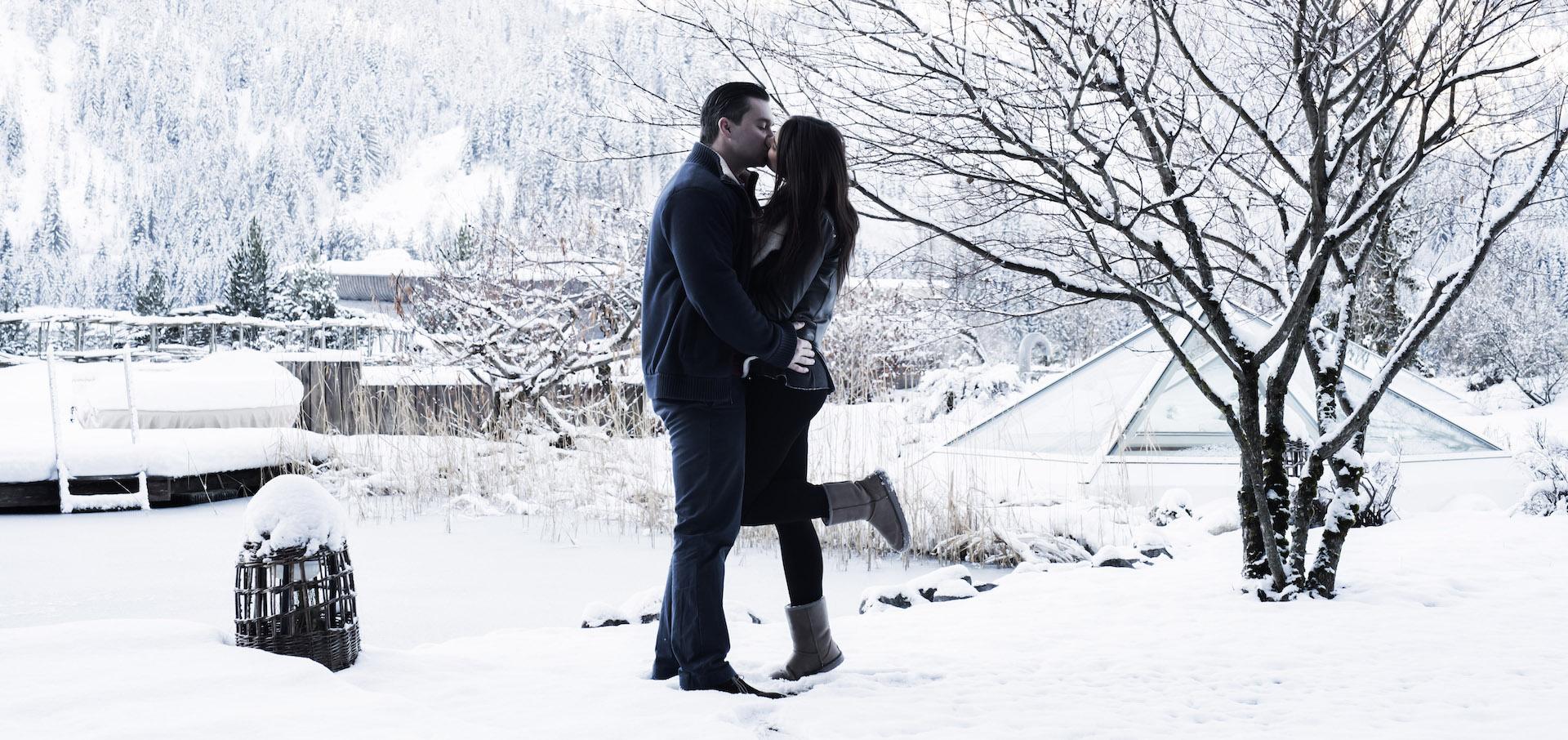 Kuss-im-Schnee