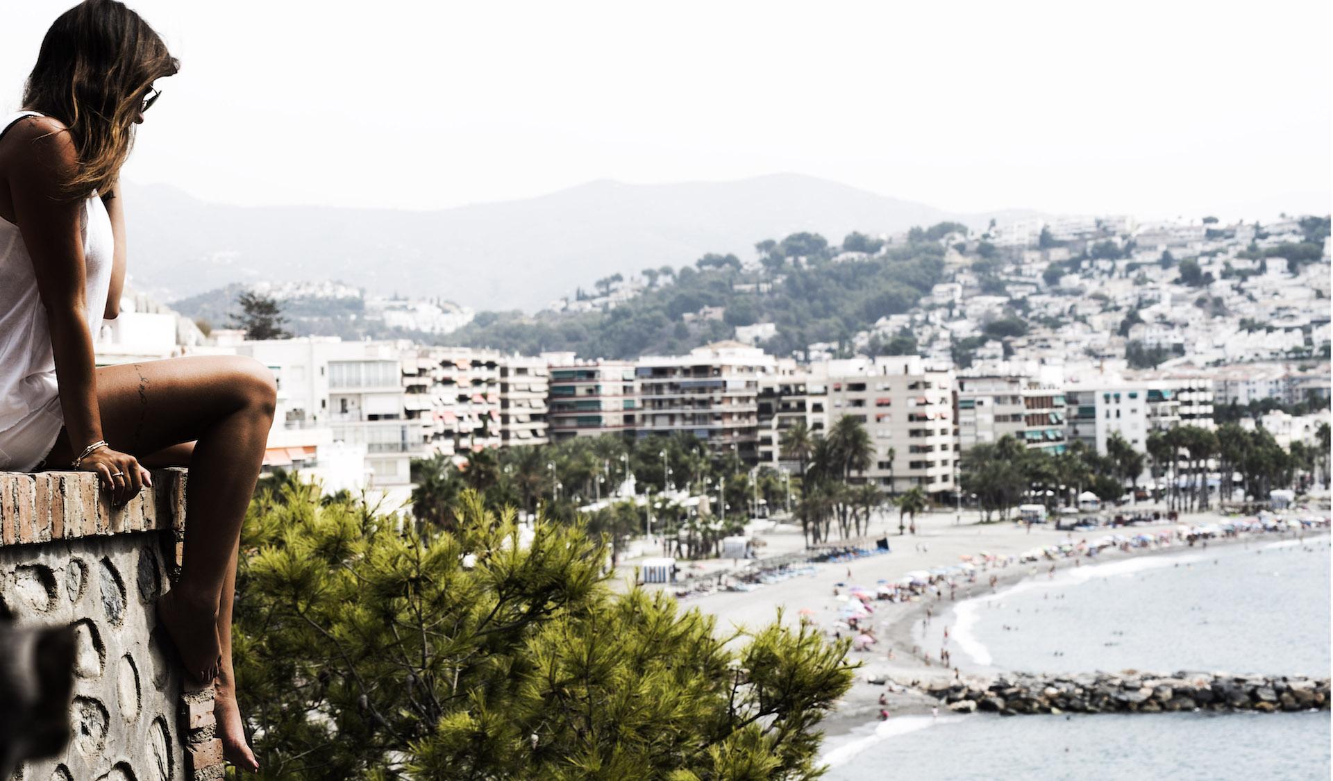 Spanien-Beach-Freiheit